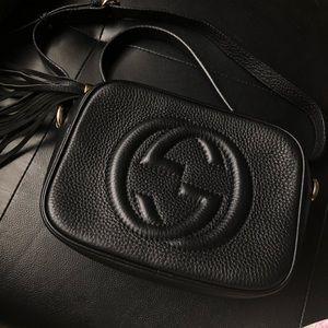 Gucci black soho bag (N O T A U T H E N T I C)